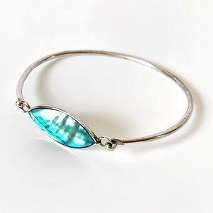 Alpaca Mexico Silver bangle bracelet